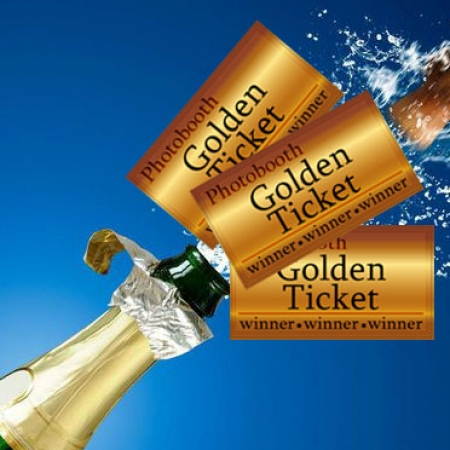 golden ticket photobooth